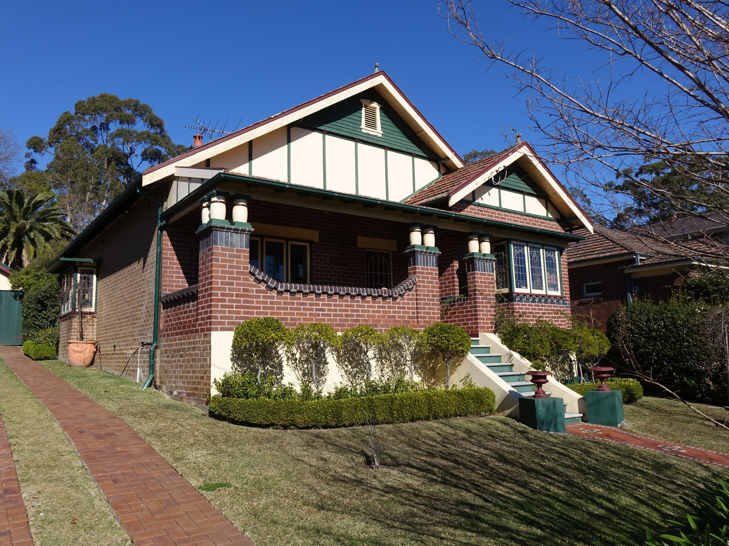 Federation building reports sydney bungalow building for 1900 architecture houses